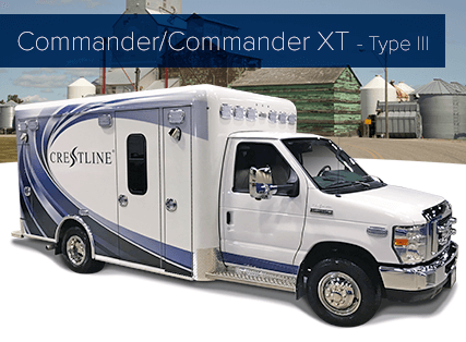 Commander/Commander XT - Type III Ambulance